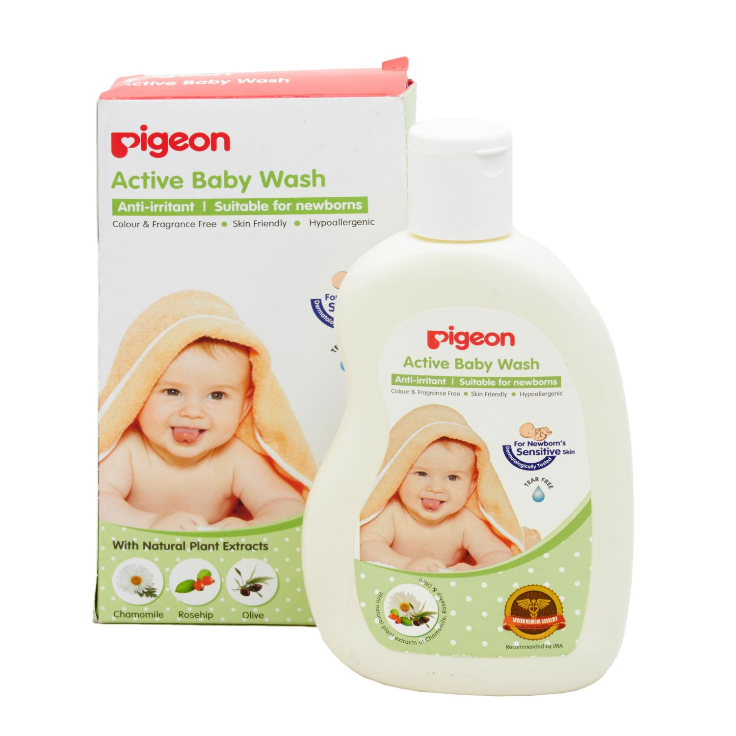 Pigeon 08530 Baby Liquid Soap - 200 ml