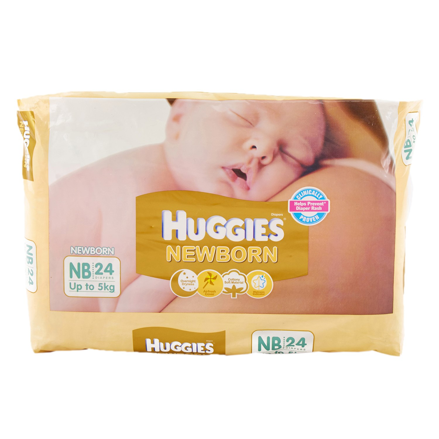 Huggies New Born Diapers - 24 Nos