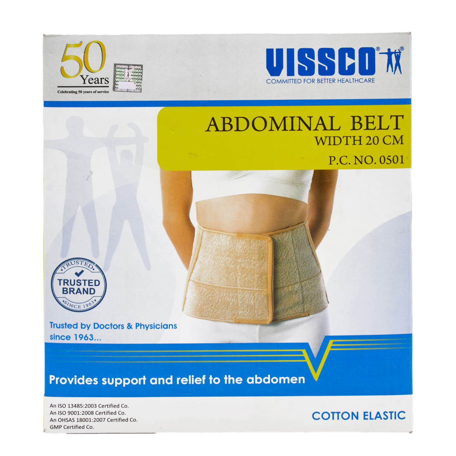 Vissco Abdominal Belts P.C.No.0501 Medium