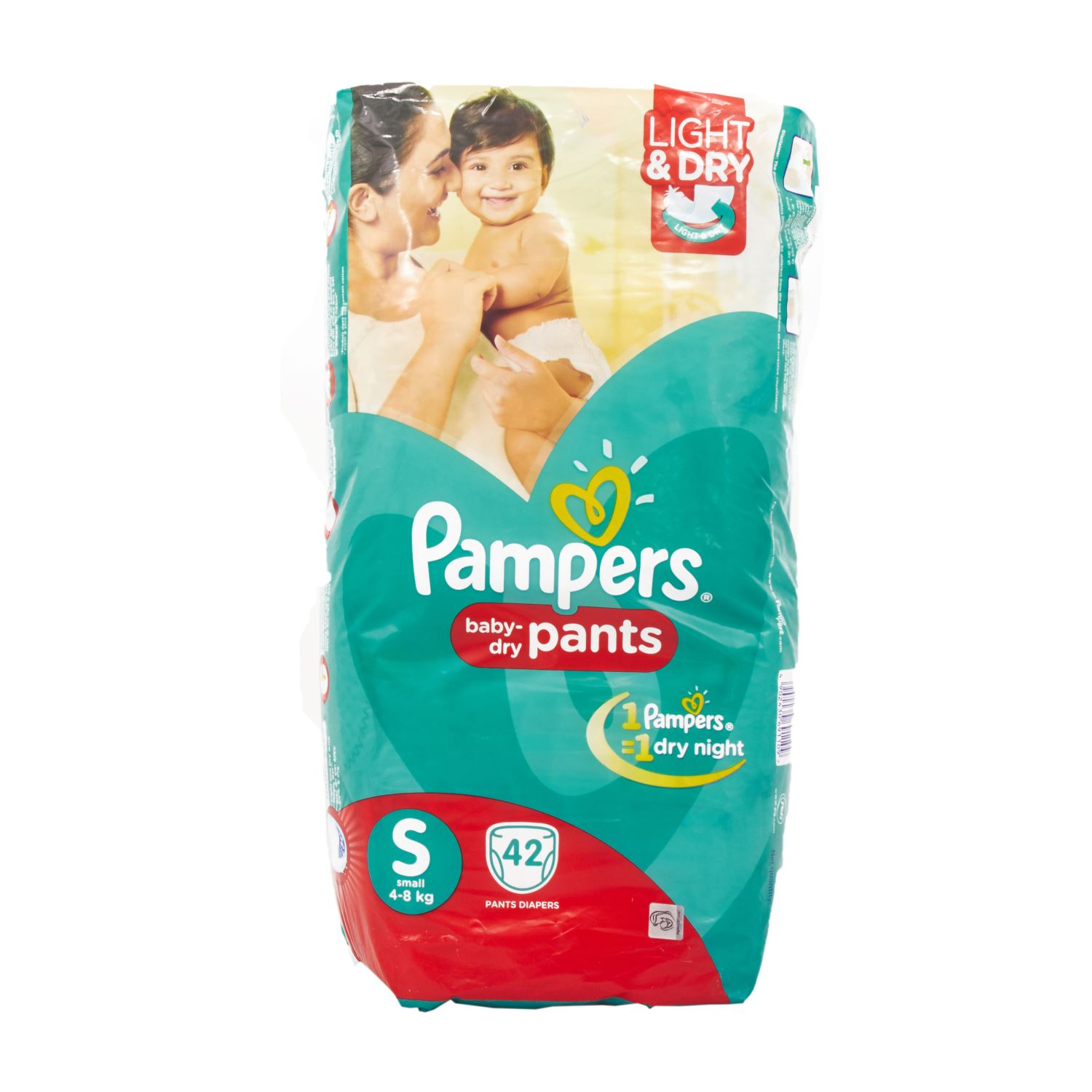 Pampers Pant Style Diapers Small - 42 Nos
