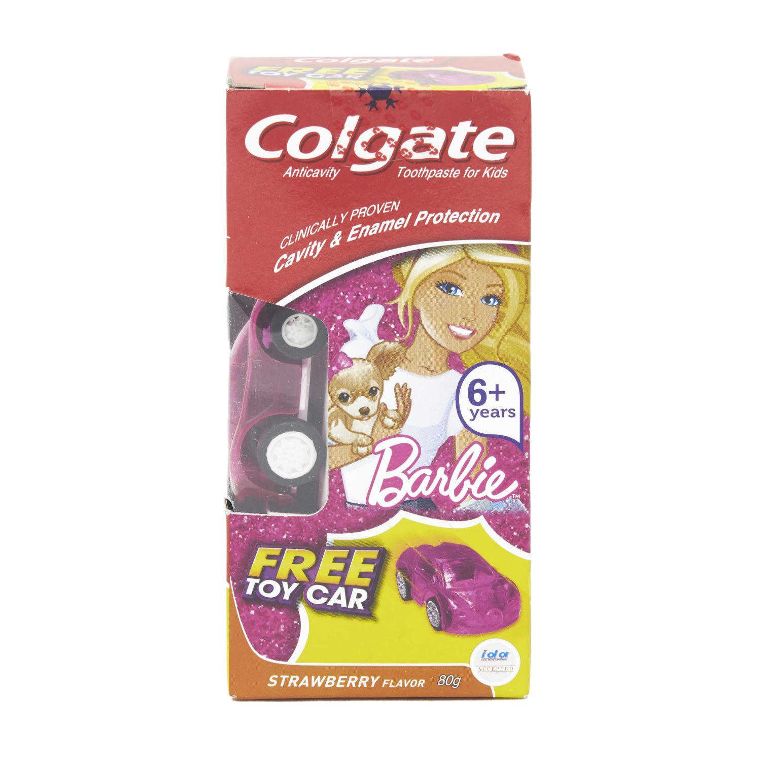 Colgate Barbie Strawberry Toothpaste - 80 gm