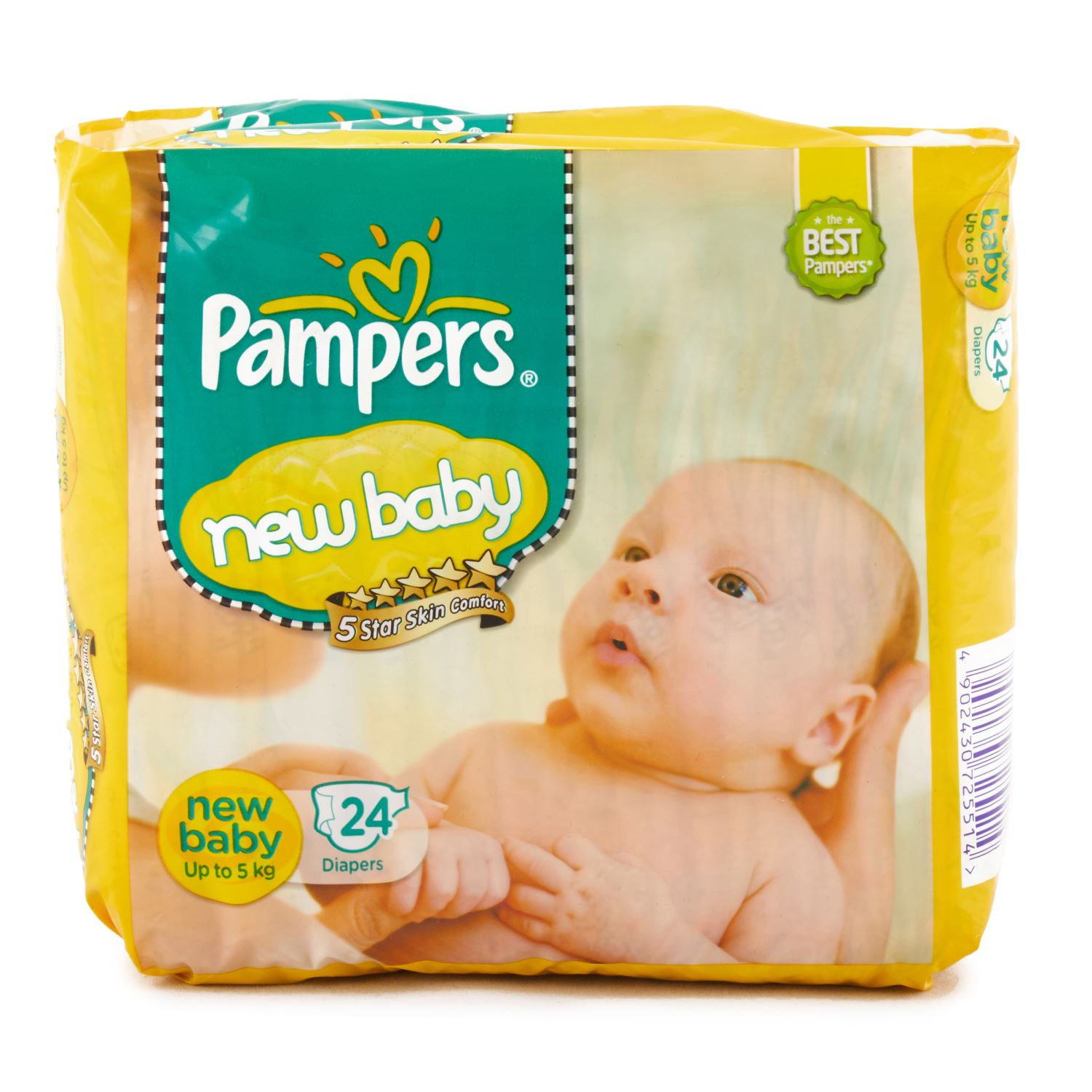 Pampers New Baby Diapers - 24 Nos