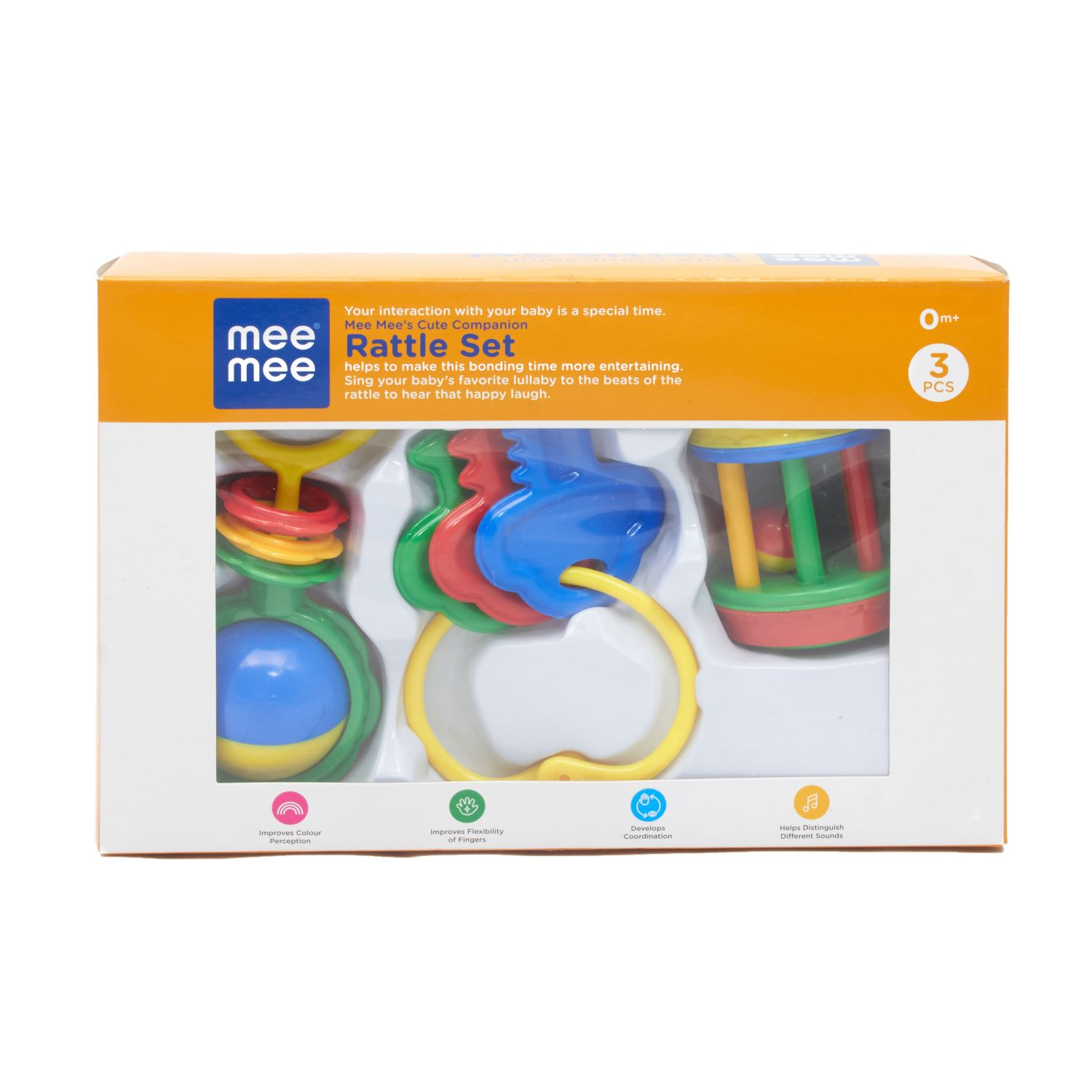 Mee Mee Mm 301 Infant Rattle Set