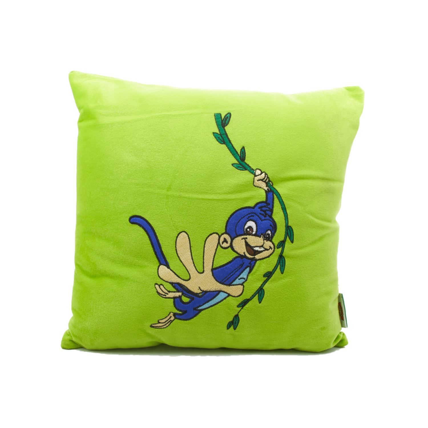 Vividha Stuffed Cushion Cb-Comic 36X36 Cms Green