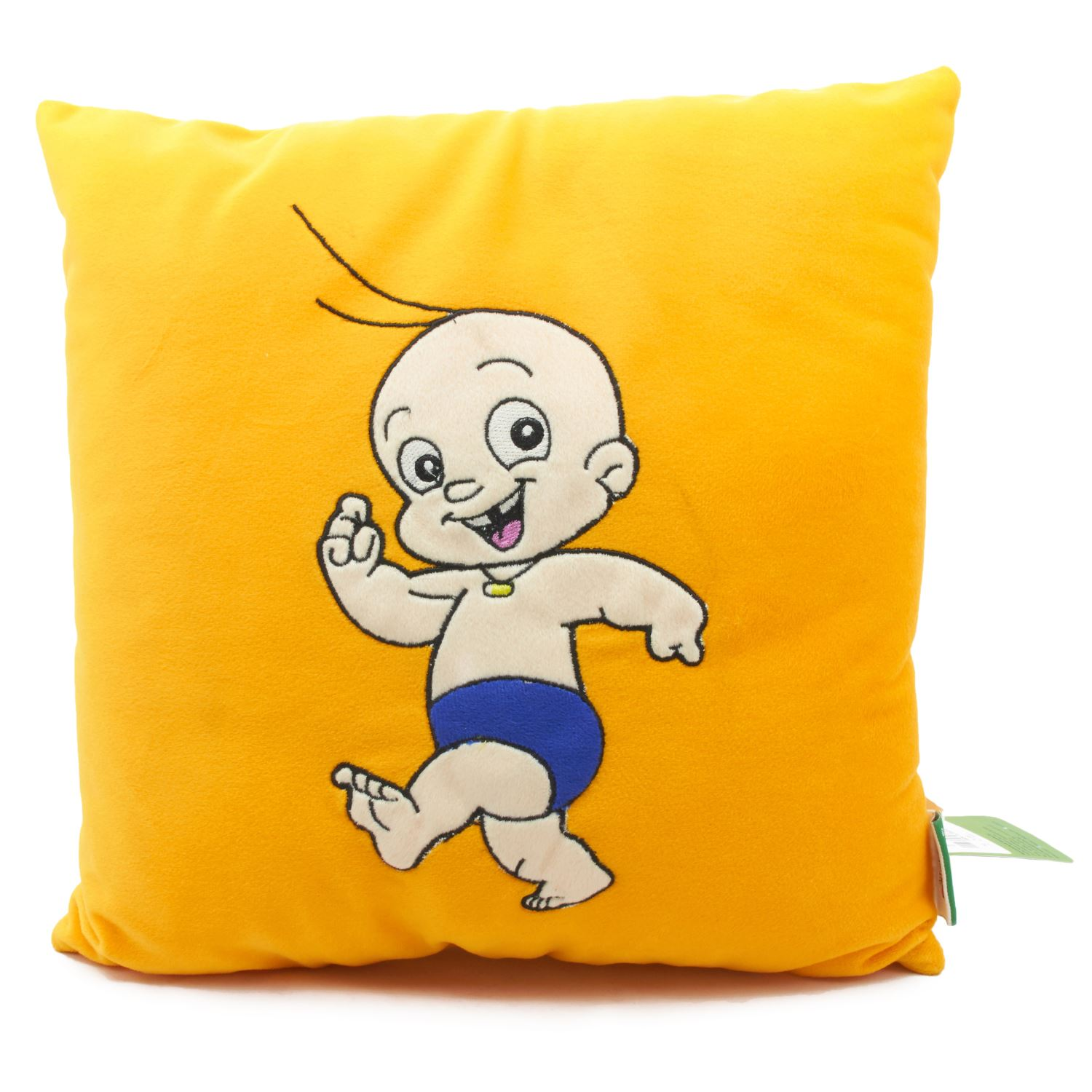 Vividha Stuffed Cushion Cb-Comic 36X36 Cms Yellow