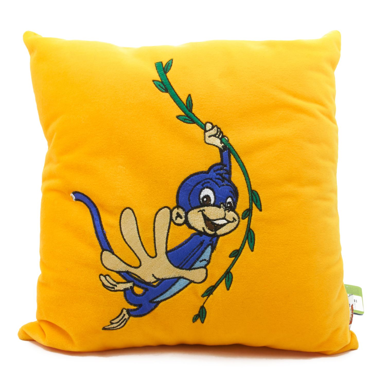 Vividha 448 Stuffed Cushion Cb-Jungle 36X36 Cms Marigold