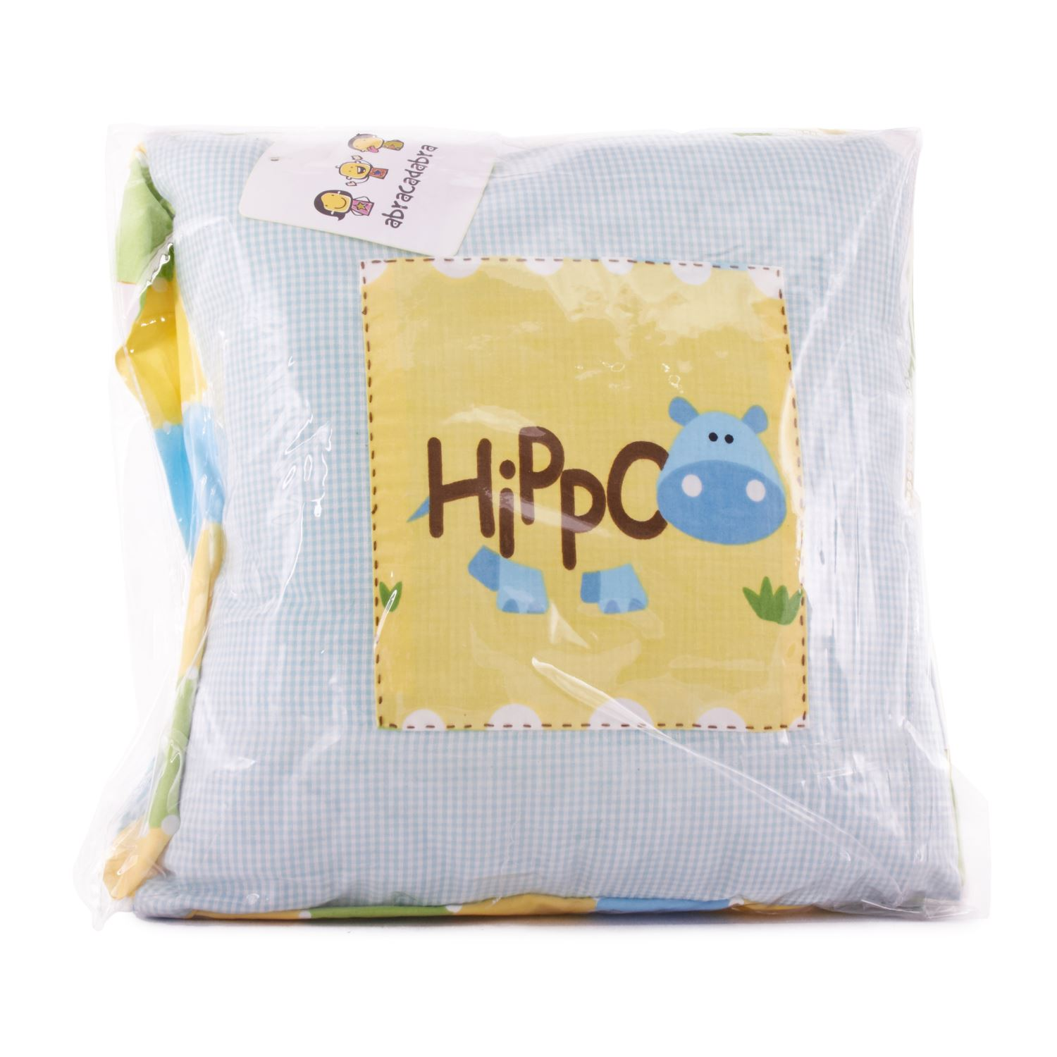 Abracadabra Filled Cushion Hippo