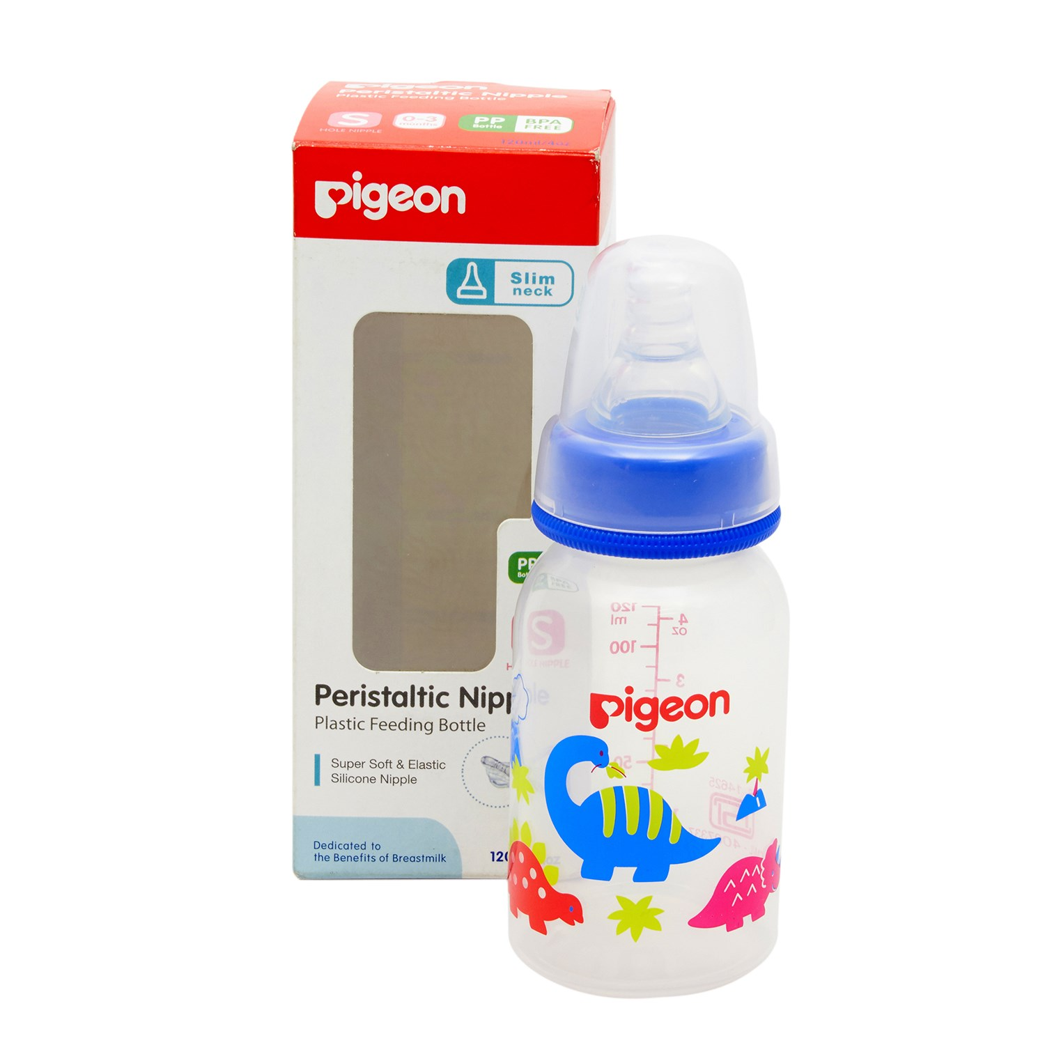 Pigeon 17335 Feeding Bottle - 120 ml