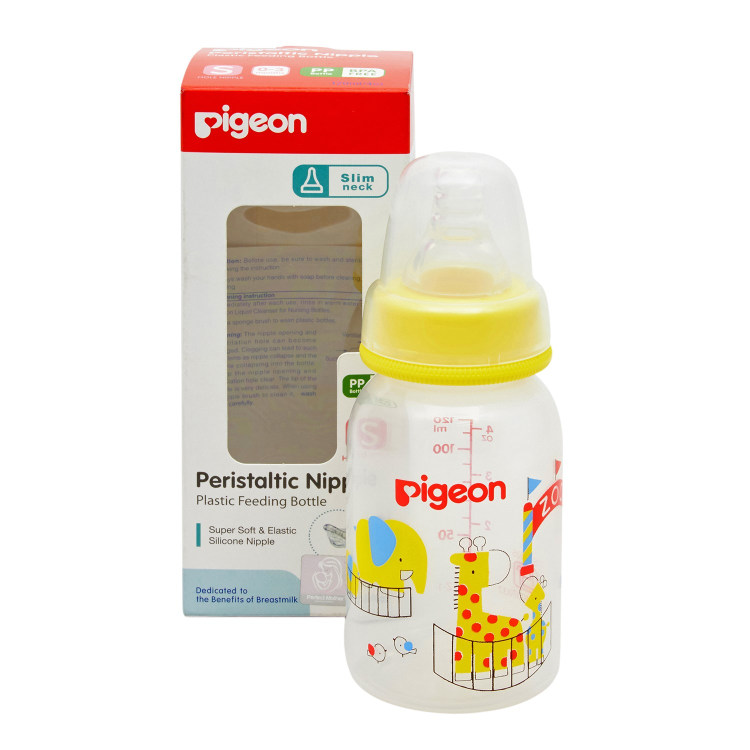 Pigeon 17337 Feeding Bottle - 120 ml