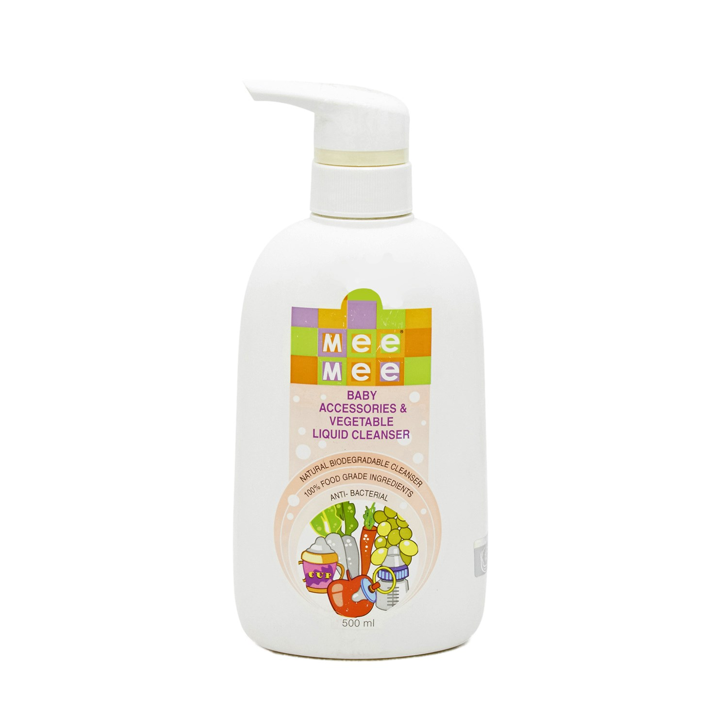 Mee Mee 3775 Accessory & Vegetable Liquid Cleanser - 500 ml