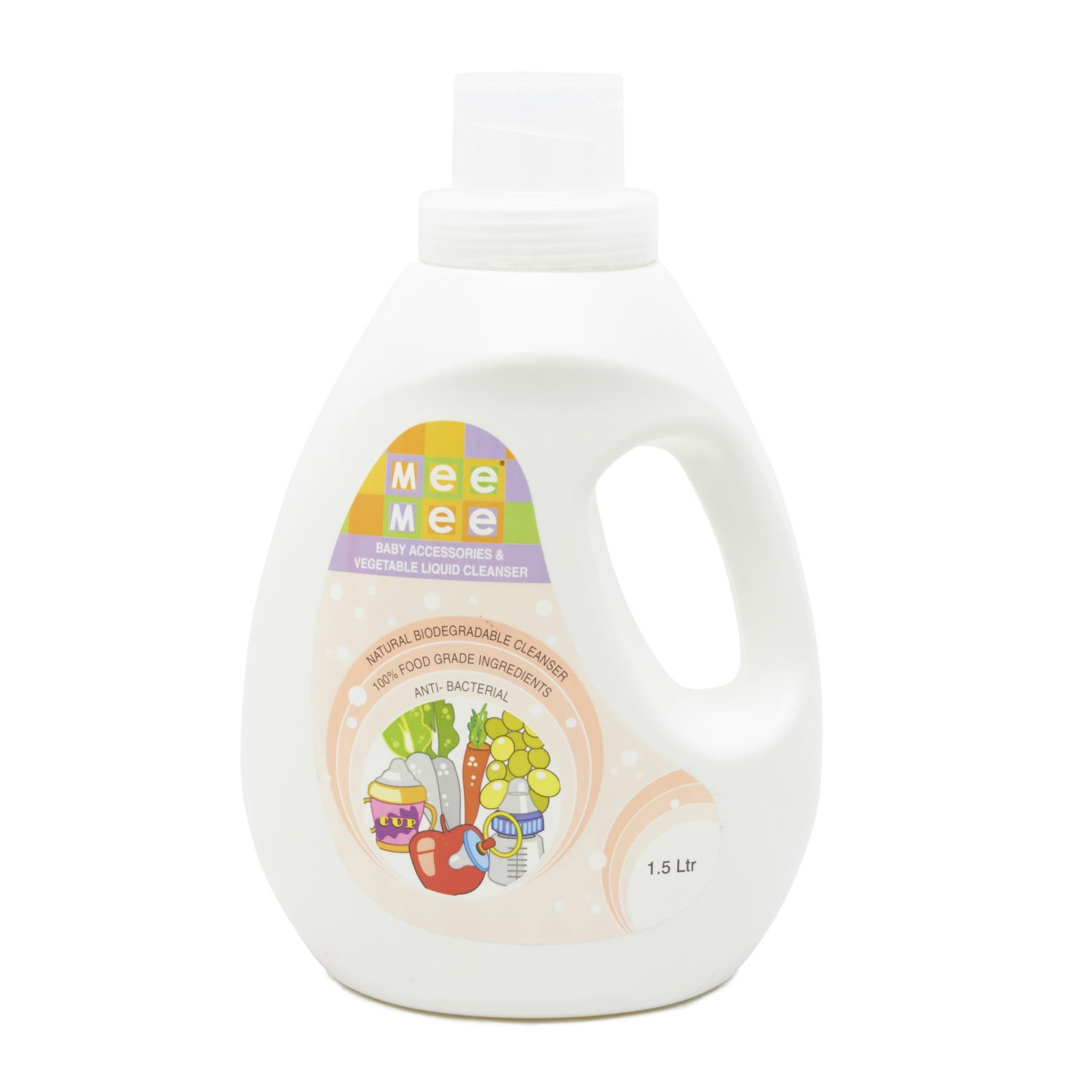 Mee Mee Accessories & Vegetable Liquid Cleanser - 1.5 L