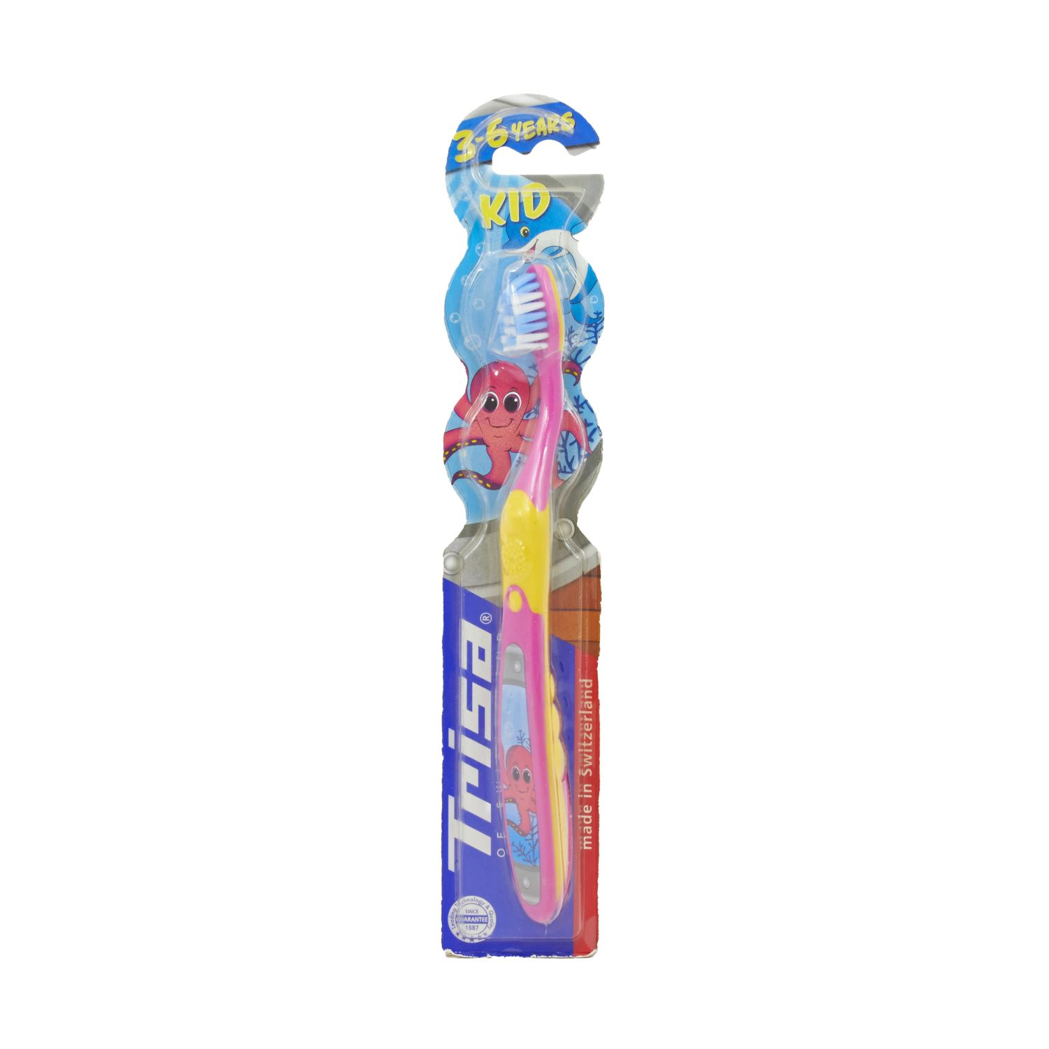 Trisa Kids Toothbrush 3 - 6 Years