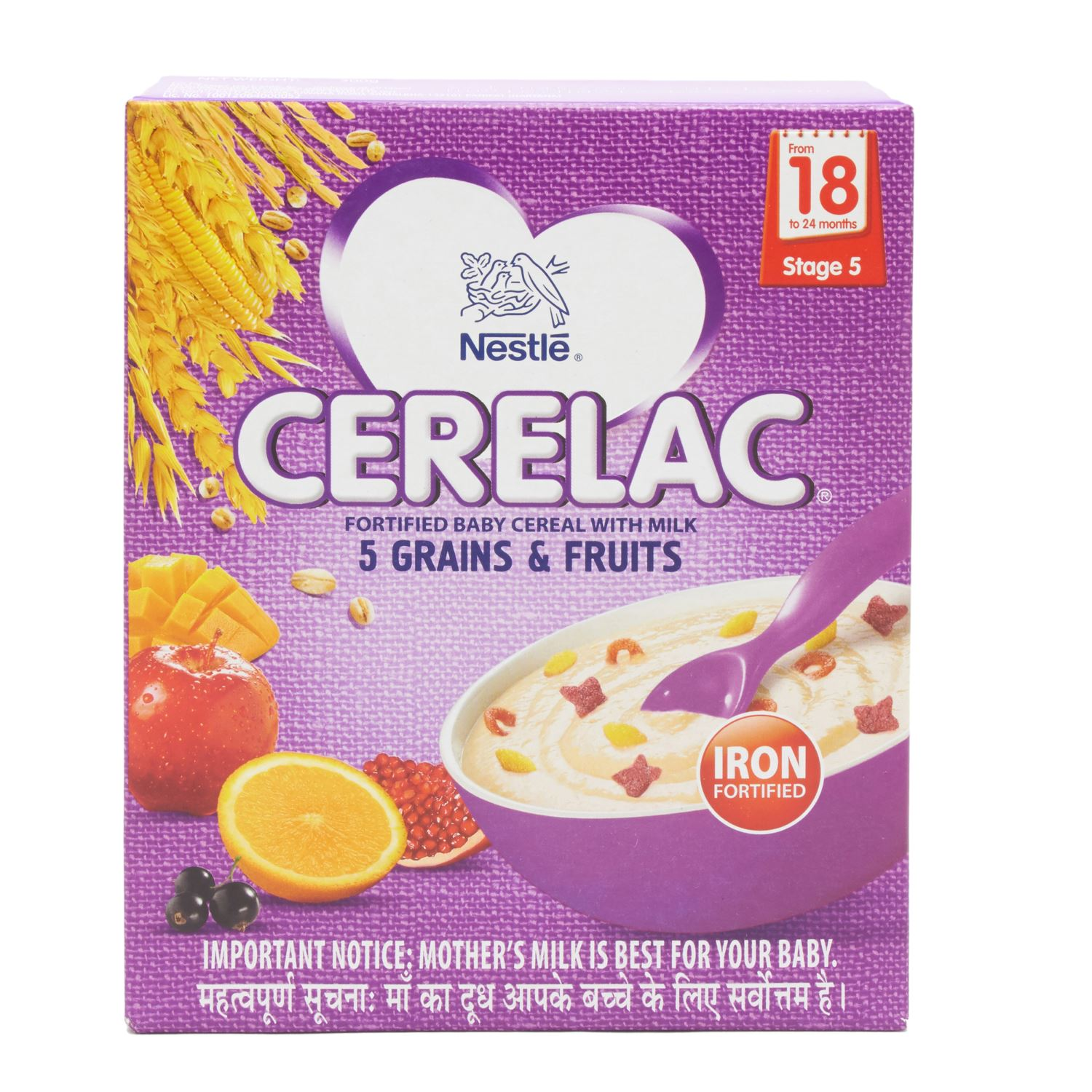 Cerelac Mix Fruits Powder Stage 5 - 300 gm