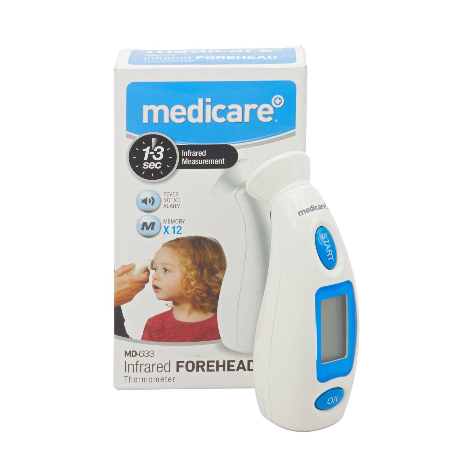 Medicare+ Infrared Forehead Thermometer MD633