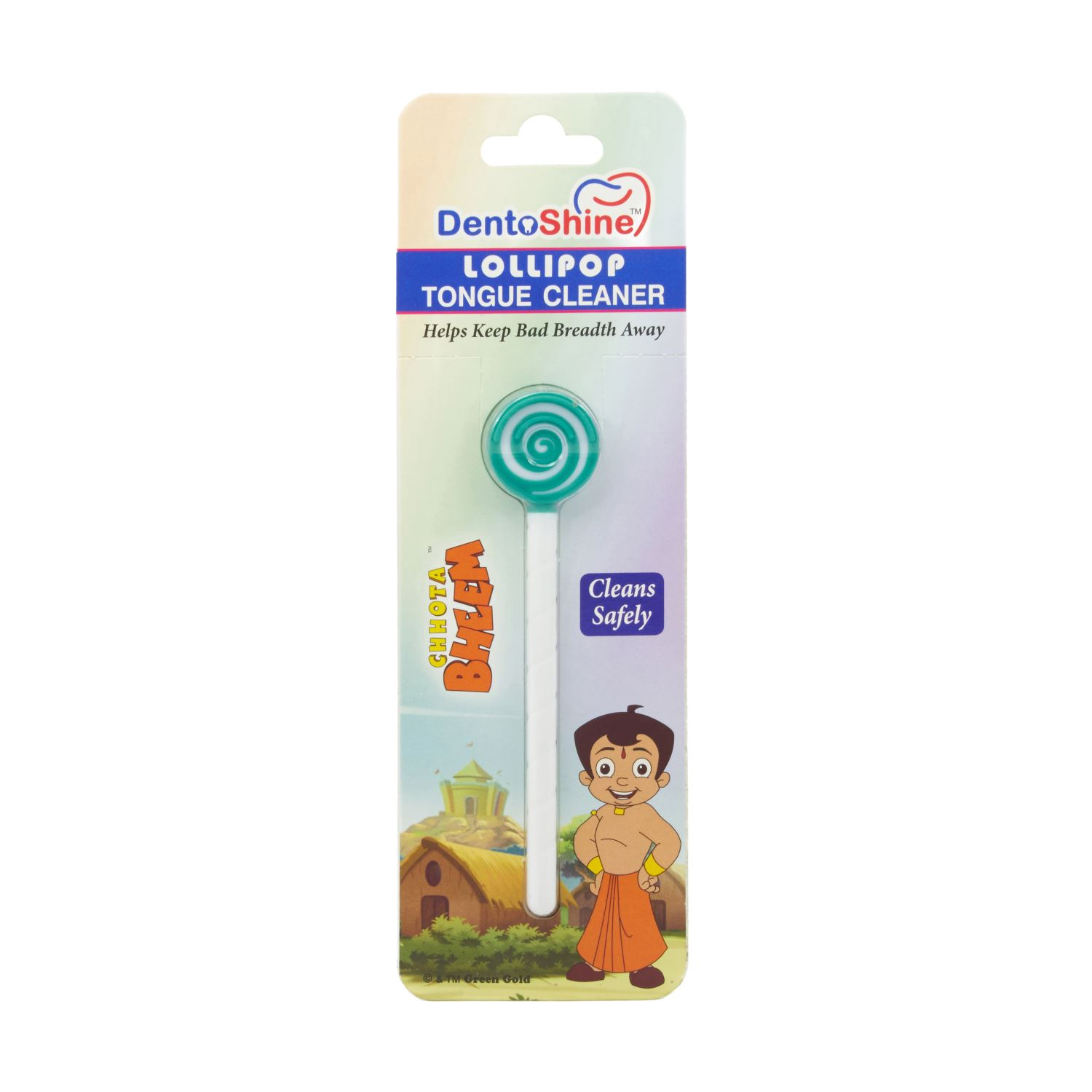Dentoshine Lollipop Tongue Cleaner