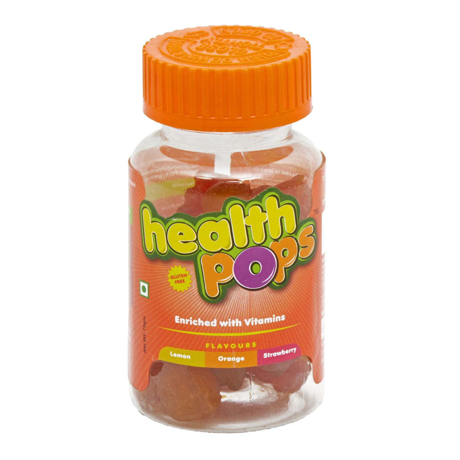 Health Pops Gummies With Vitamins - 75 gm