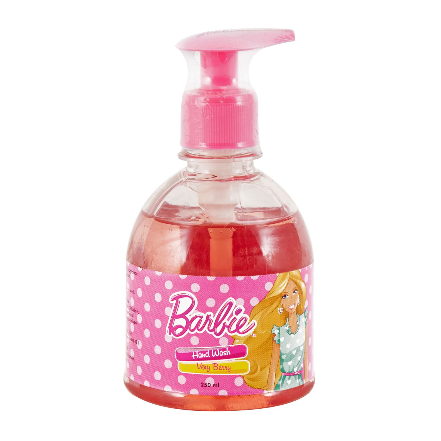 Barbie Hand Wash Berry Berry - 250 ml
