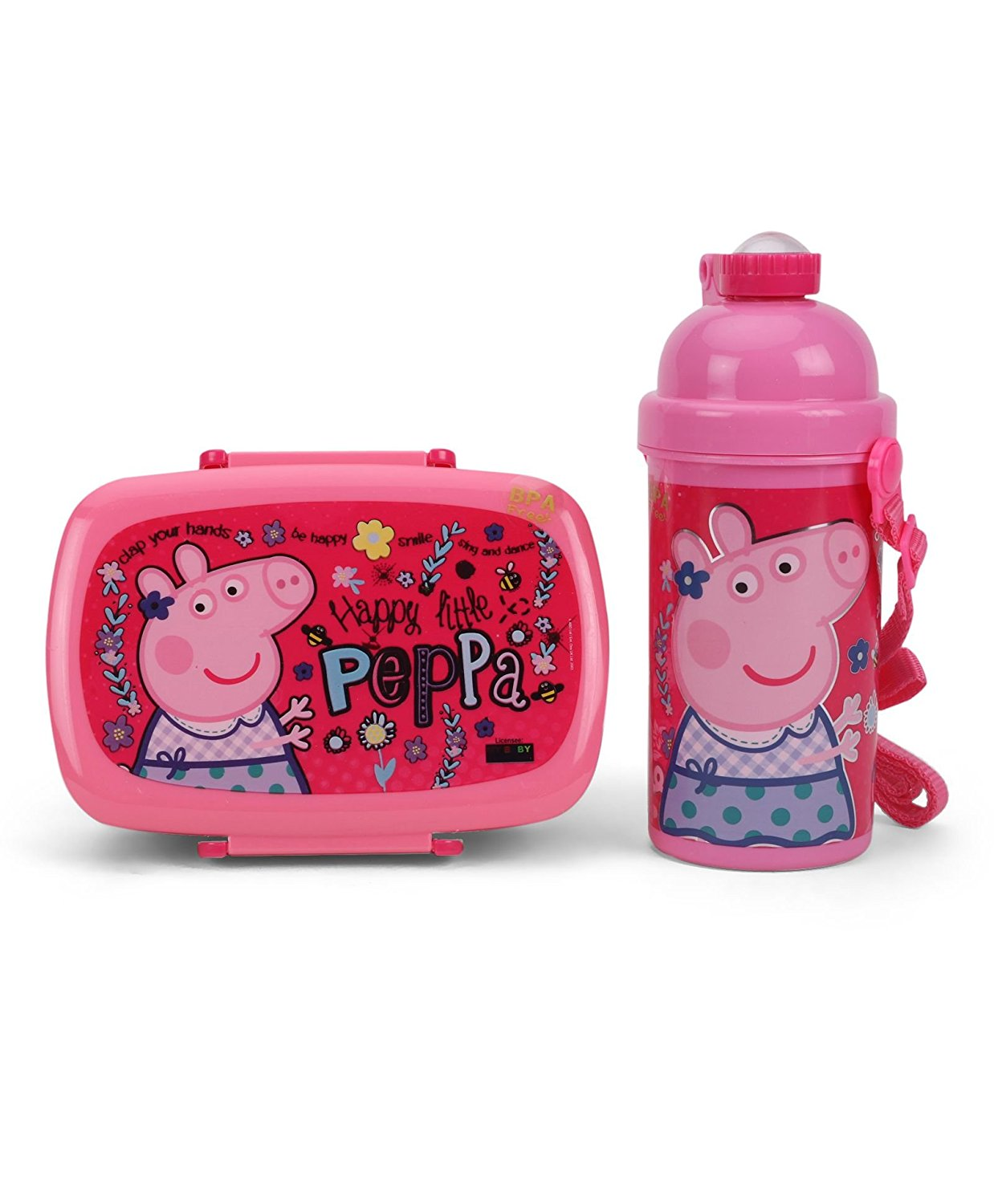 Back to school peppa pg combo set pink MBE-PP045