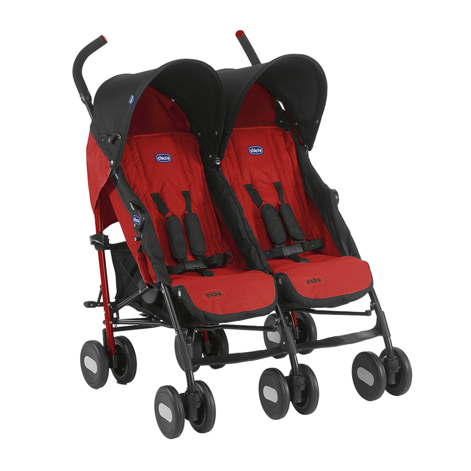 Chicco 110000 Echo Twin Stroller Garnet