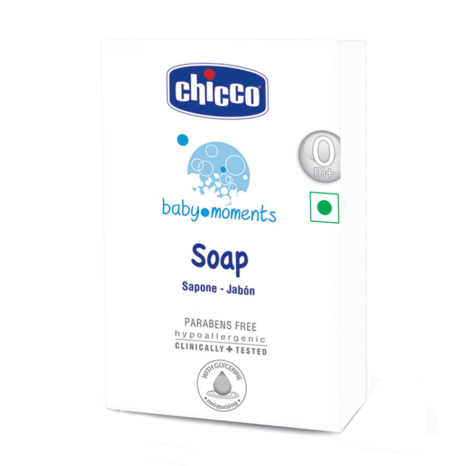 Chicco 28551 Baby Moments Soap - 125 gm