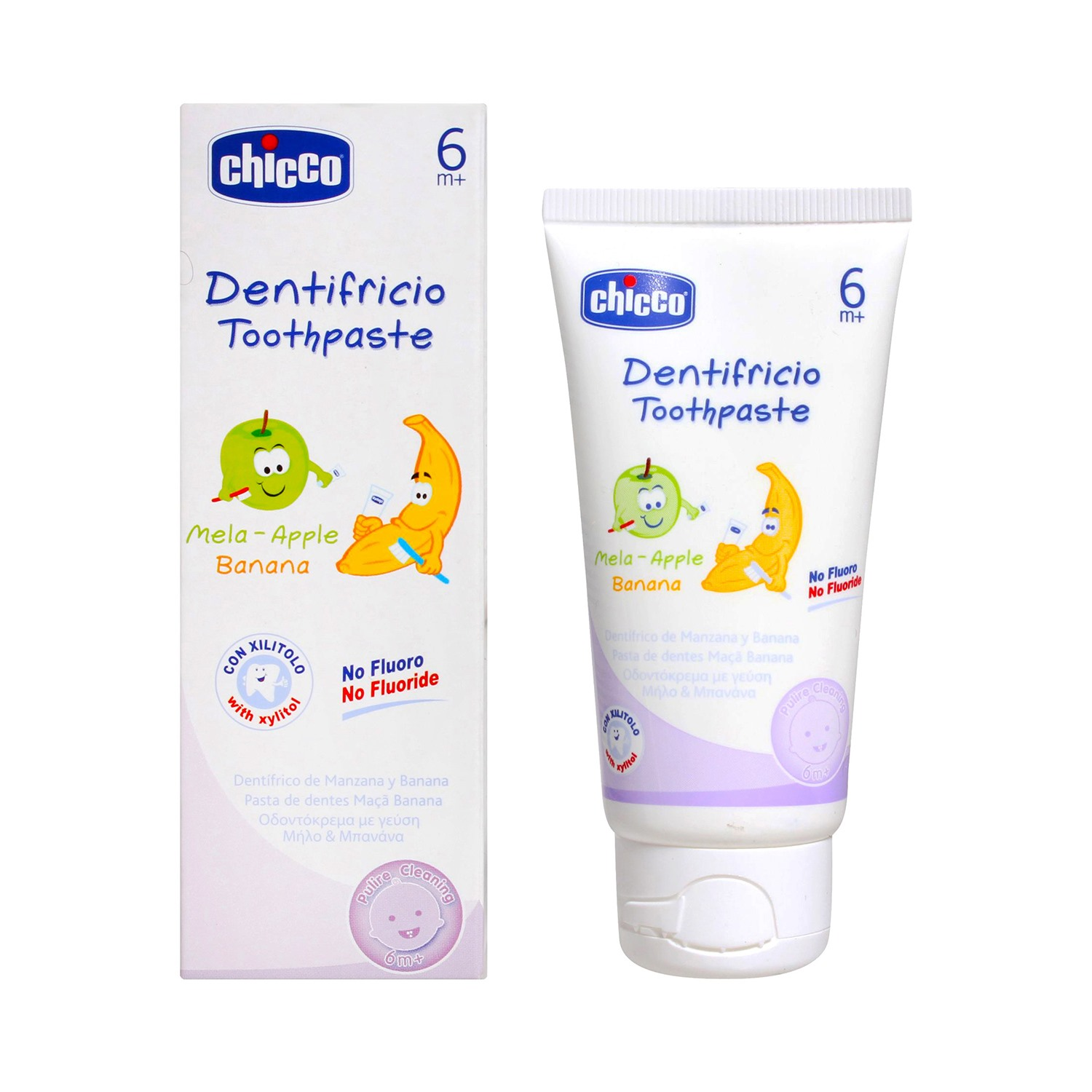 Chicco 4967 Dentifricio Toothpaste 6 Months+ - 50 ml