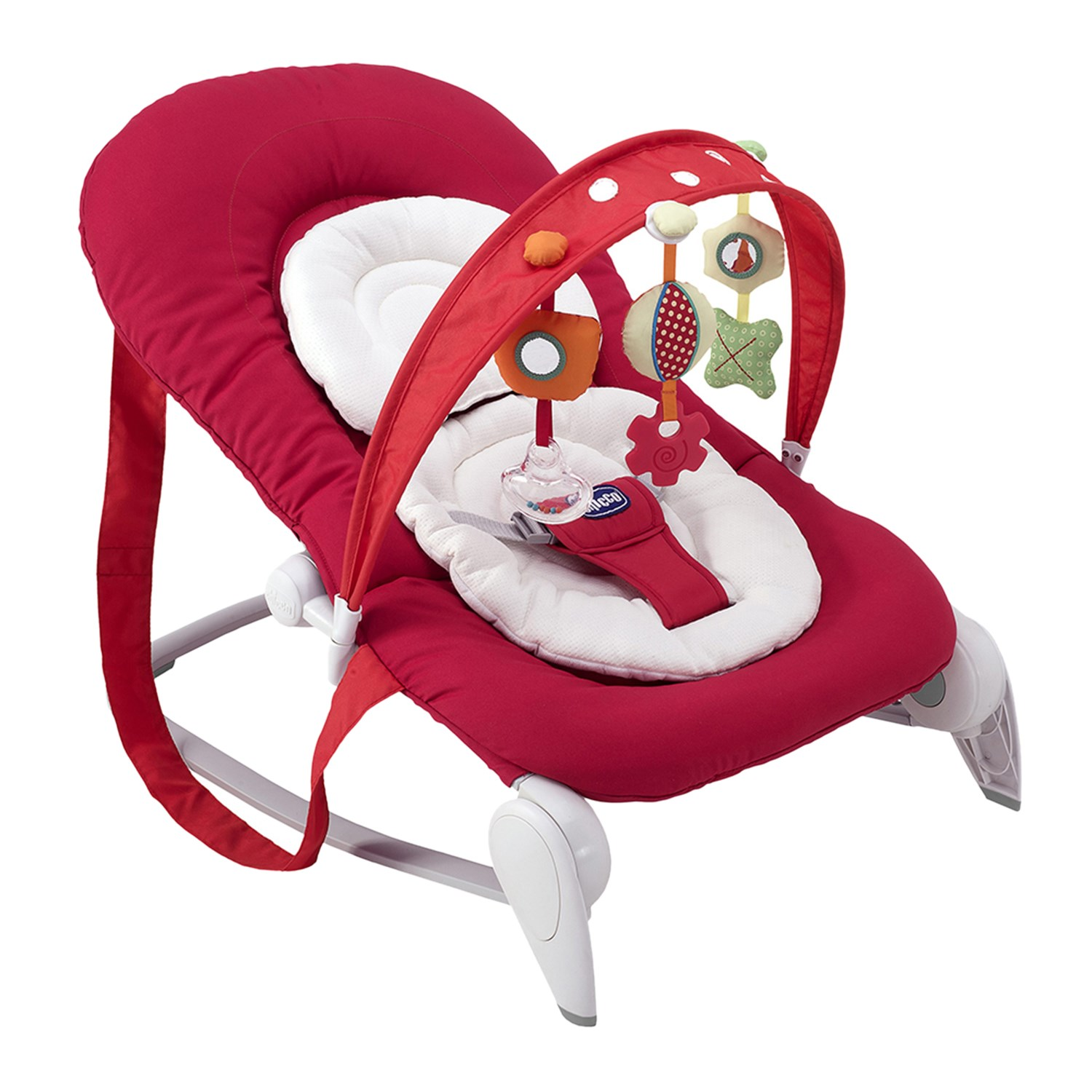 Chicco Hoopla Bouncer Red