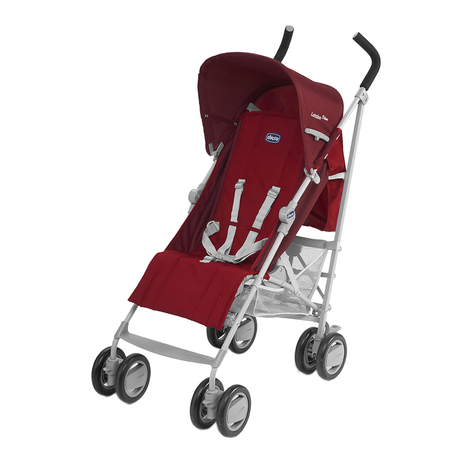 Chicco London Up Stroller Red