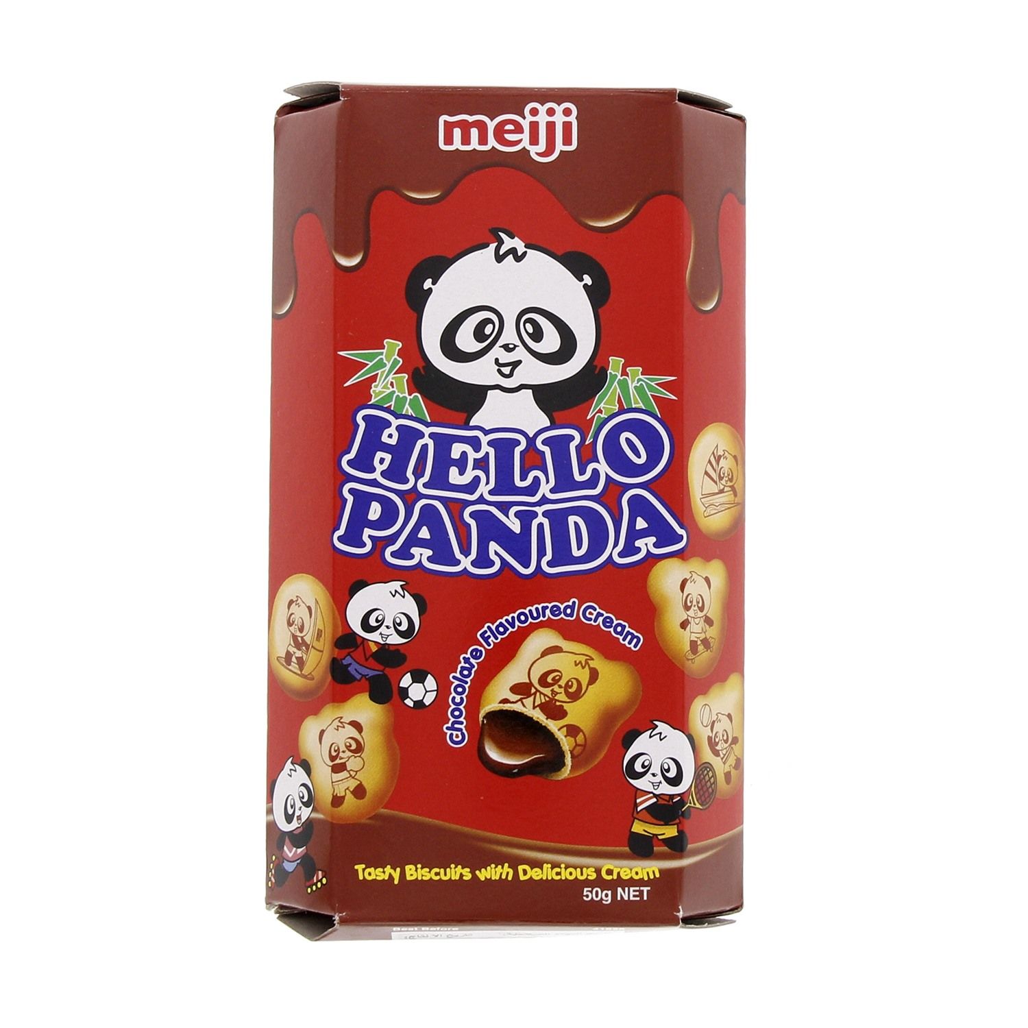 Hello Panda Chocolate Biscuit - 50 gm