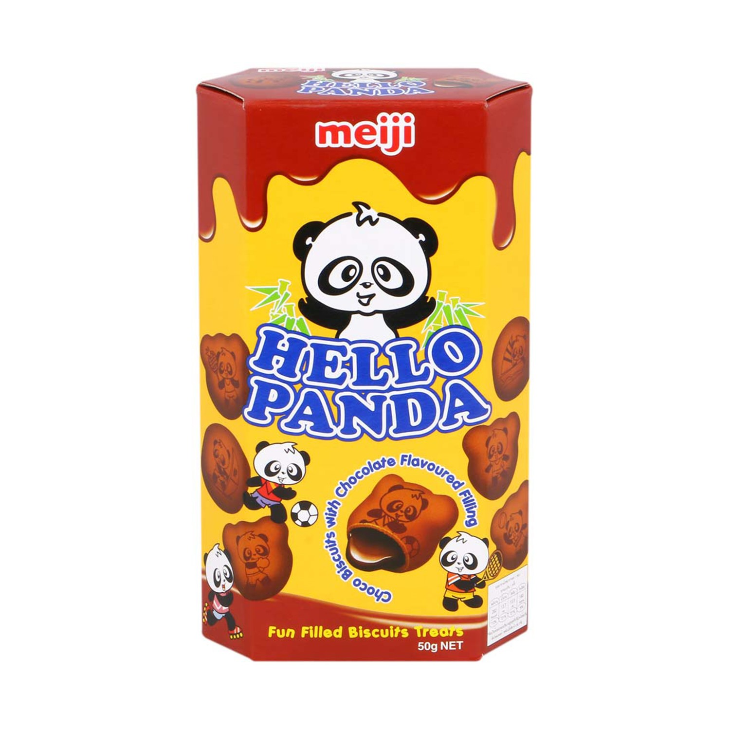 Hello Panda Double Chocolate Biscuit - 50 gm