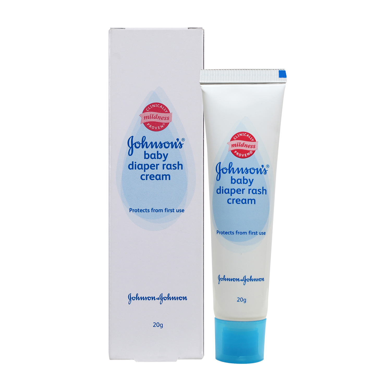 J&J Baby Diaper Rash Cream - 20 gm