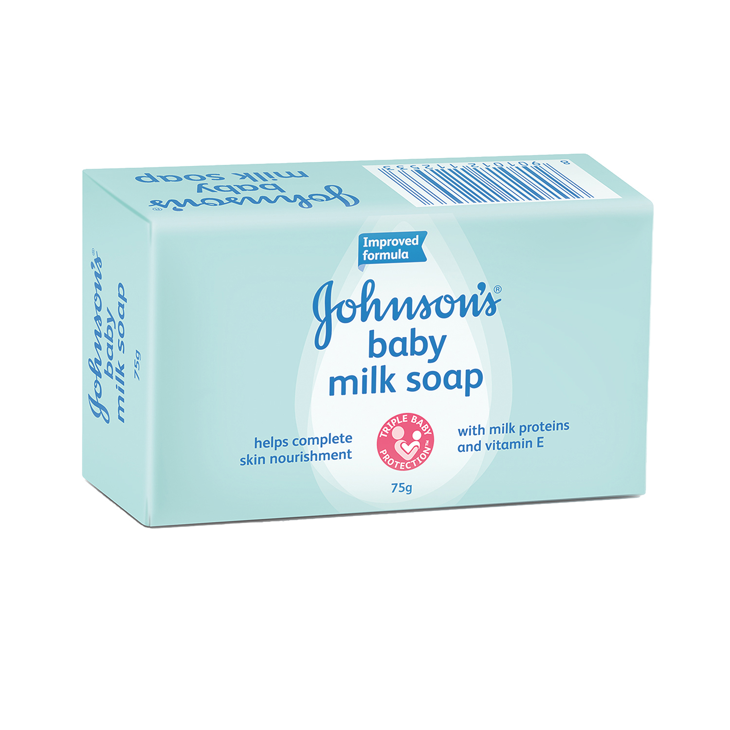 J&J Baby Milk Soap - 75 gm