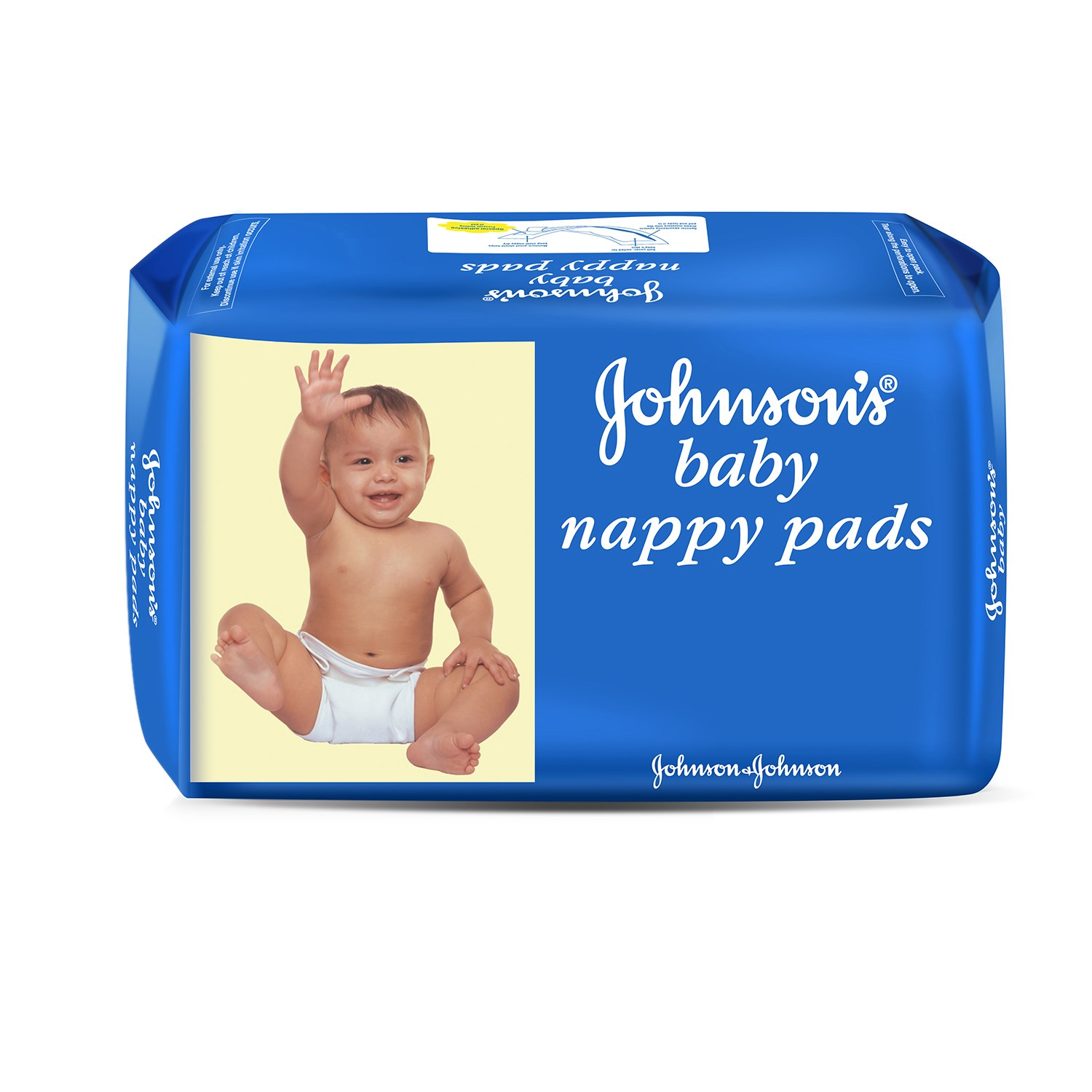 J&J Baby Nappy Pads - 10 Nos