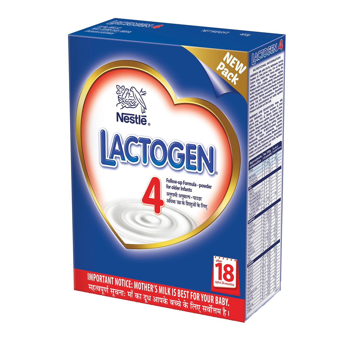 Lactogen Stage 4 Powder Refill - 400 gm