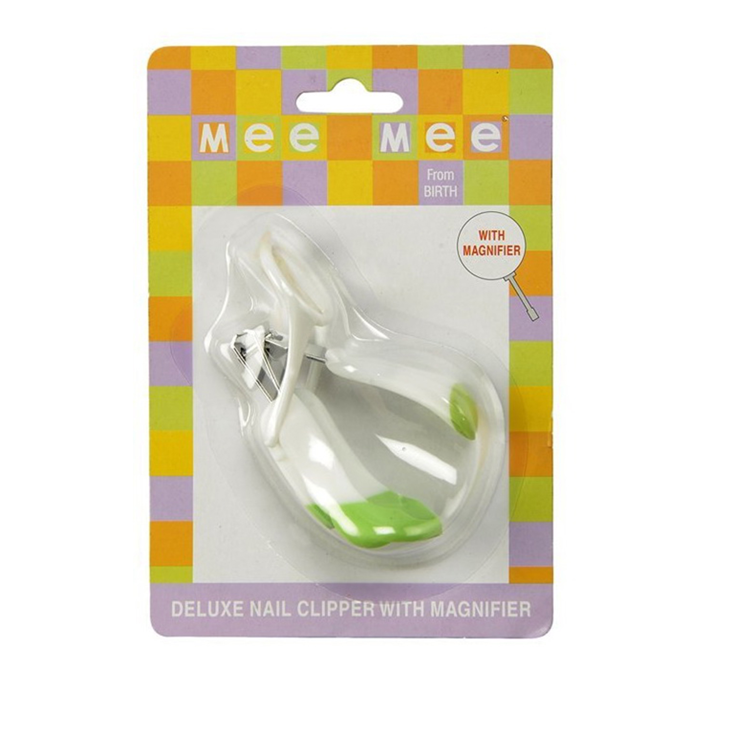 Mee Mee MM 3831 Nail Clipper With Magnifier