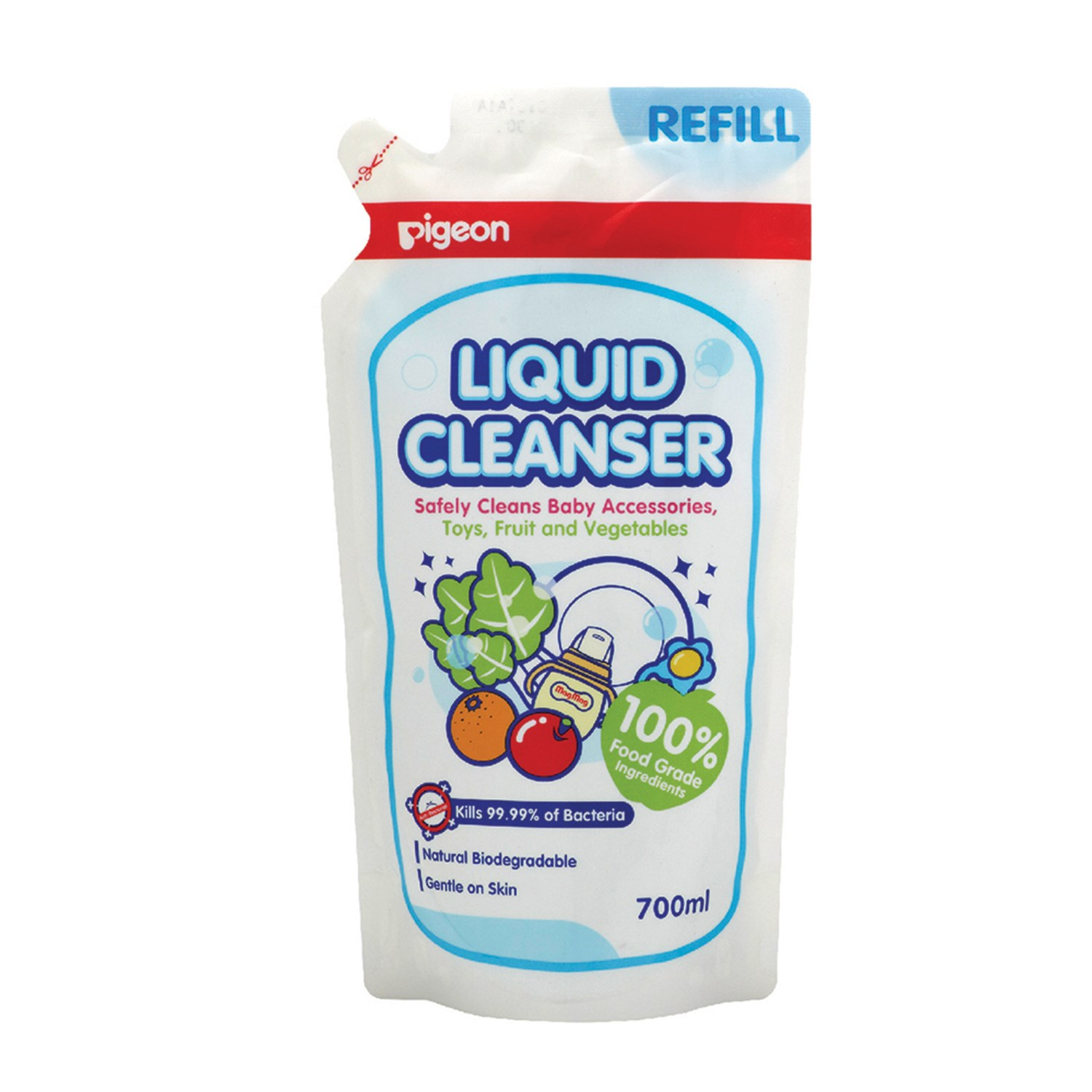 Pigeon 12969 Liquid Cleanser Refill  - 700 ml